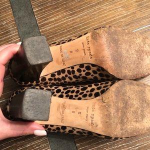 kate spade Shoes - Animal Print Kate Spade heels 8